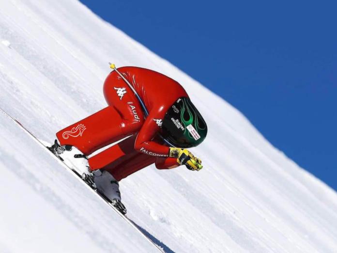 Agenzia Perdonà sostiene Simone Origone, campione di sci di velocità