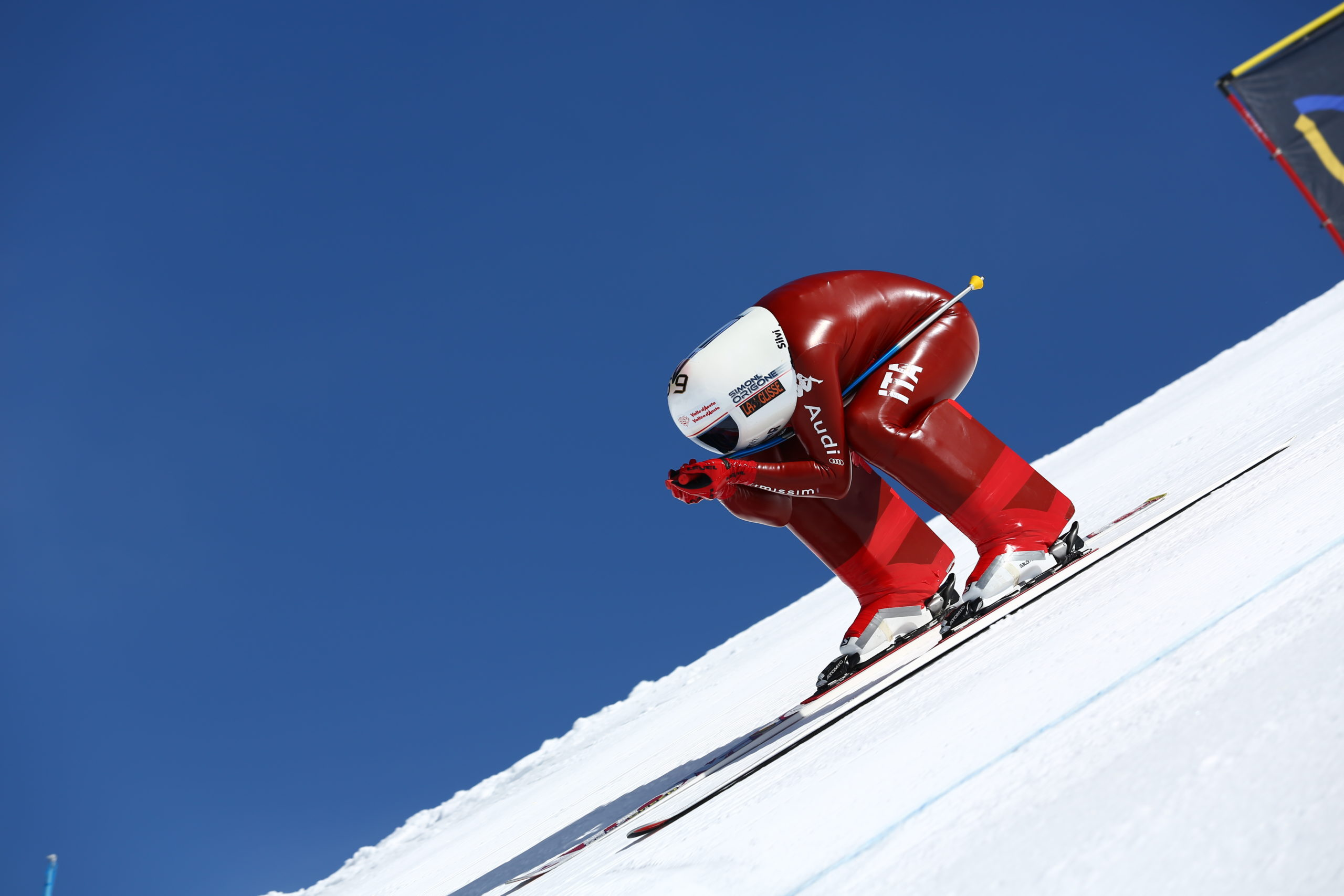Simone Origone, campione sci di velocità 2020