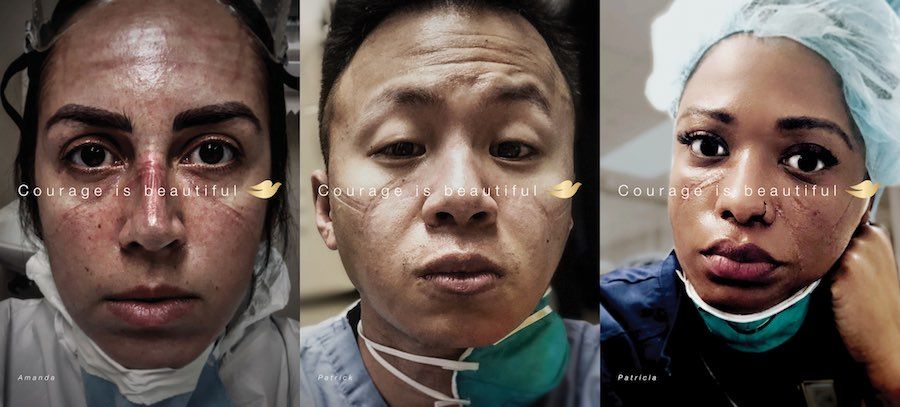 Campagna Dove - Courage is beautiful